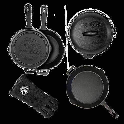 6-Piece Cast Iron Starter Kit