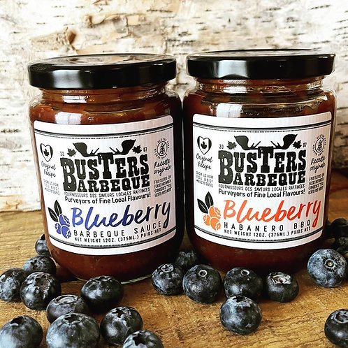 Busters Blueberry Barbeque Sauce
