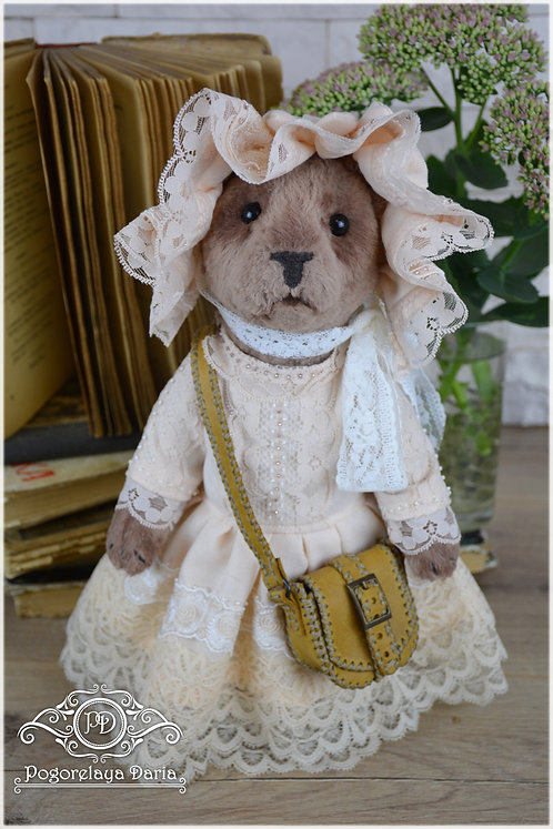 collection bear, brown bear, vintage, Bear, toy, handmade toy, collector, interior, handmade, ooak, animals, pet, forest