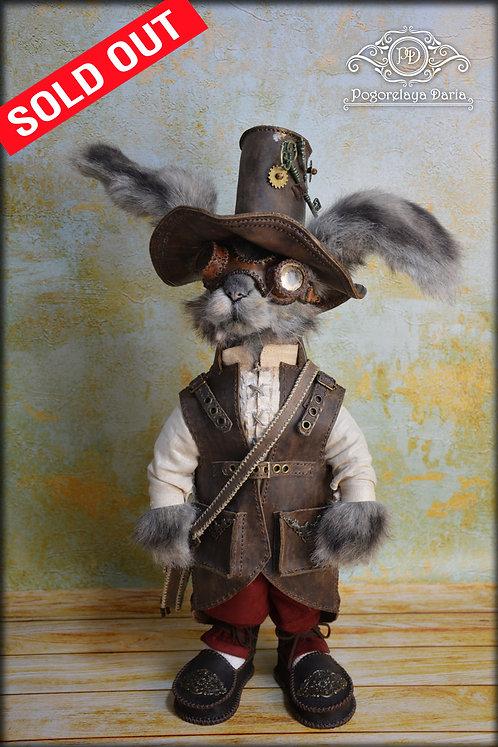 Rabbit, bunny, steampunk, anthropotomorphic animals