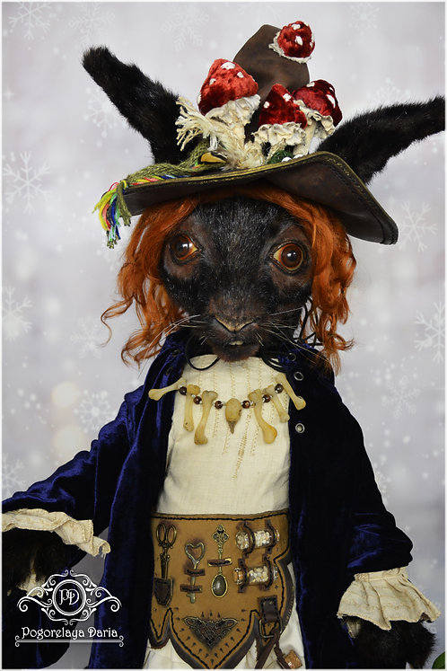rabbit, witch, fantasy animal