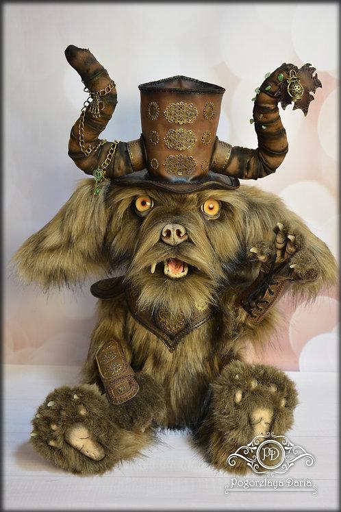 Gremlin, forest man, fantasy, fantasy animal, elf, fairy tale