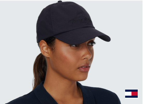 tommy signature cap