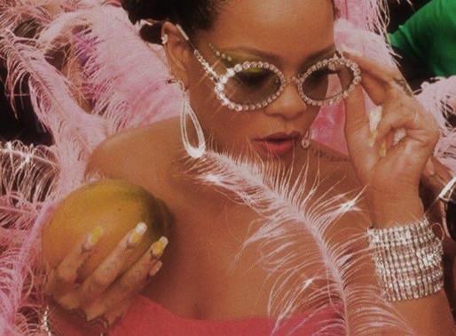 Rihanna looking glamorous