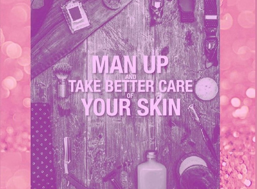 Skincare is important for men too!