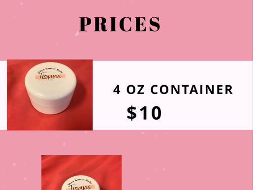 Shea Butter Babe prices