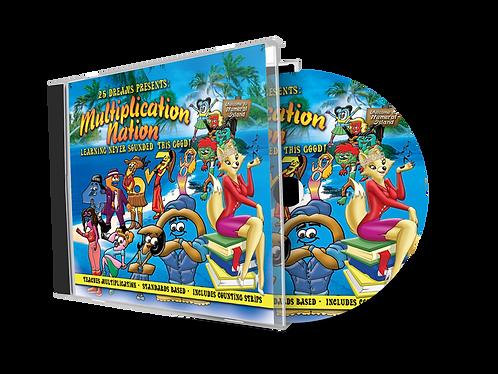 Multiplication Nation CD, Math music,
