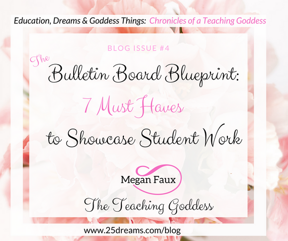 The Bulletin Board Blueprint: 7 Must Haves to Showcase Student Work