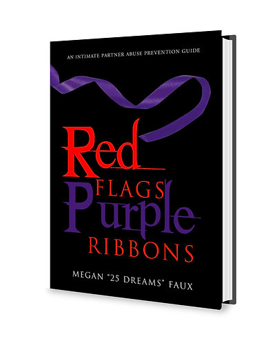 Red Flags Purple Ribbons Book -- Intimate Partner Abuse Prevention Guide