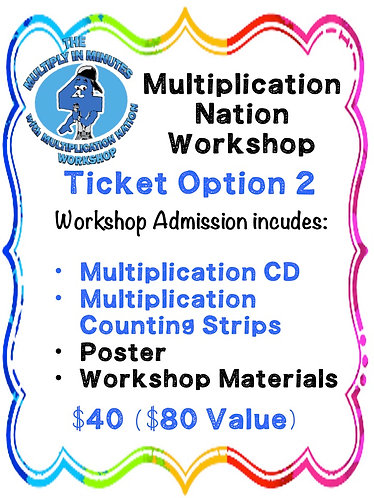 Multiplication Workshop Option 2 - Los Angeles