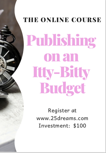Publishing on an Itty-Bitty Budget Online Course
