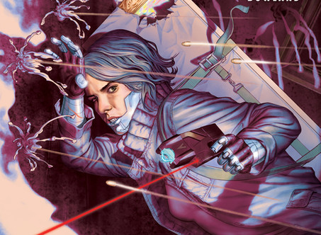 Stained #2 hits comic shops across America