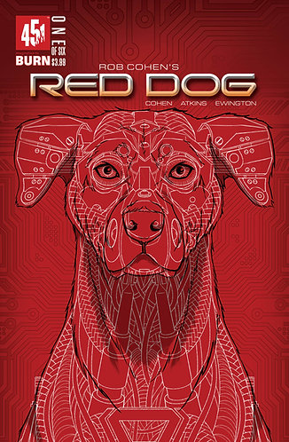 Red Dog Tom Velez Variant Issue #1