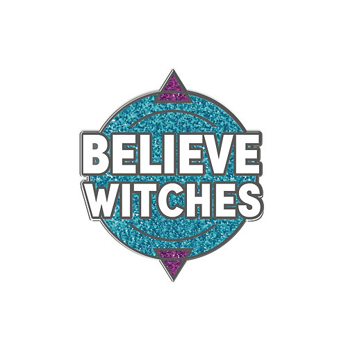 I Am Hexed #2 Believe Witches: Enamel Pin
