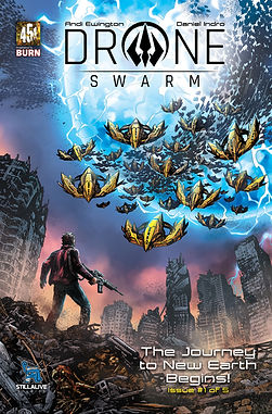 Drone Swarm issue 1