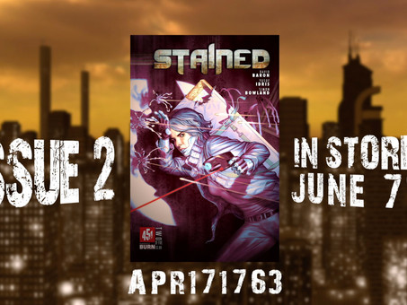 Stained #2 Gets an Animated Cover