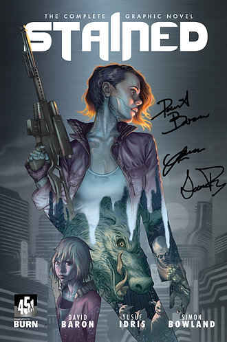 Stained TPB Signed Edition