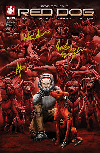 Red Dog TPB Signed Edition
