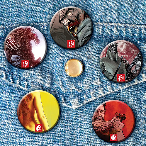 NYCC '15 Button Pack