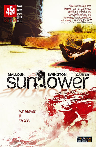 Sunflower Issue #1 Cover