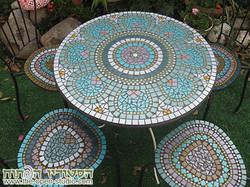 שולחן וכיסאות לגינה - עמי אשרמן
