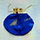 Thumbnail: SMALL BUTTERFLY ON ROYAL BLUE