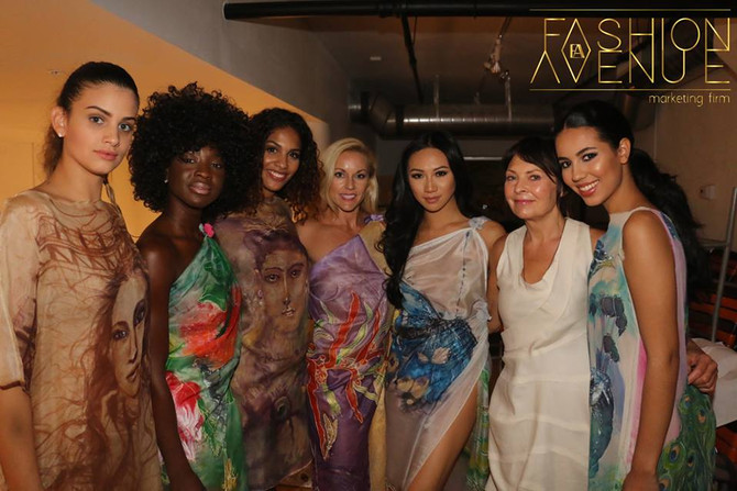 Behind the Scenes at our Fashion Event