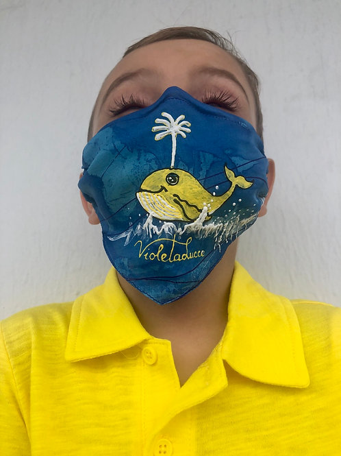 YELLOW WHALE MASK