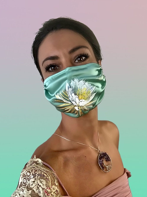 QUEEN OF THE NGHT SILK MASK