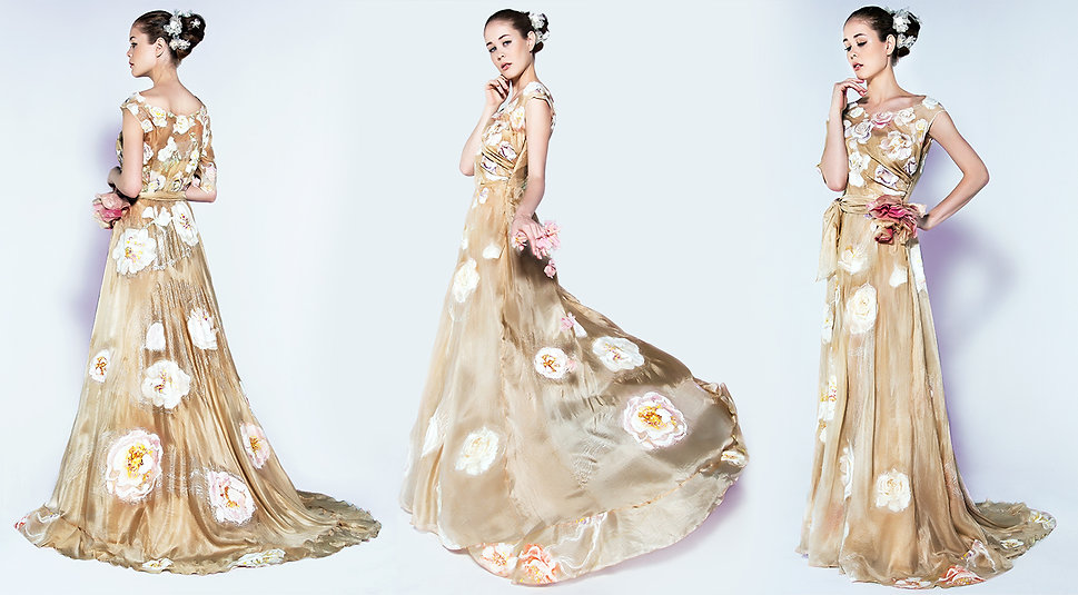 Violeta Lucce - Shop Hand-Painted Luxurious Silk Couture Violeta Lucce - Shop Hand-Painted Luxurious Silk Couture