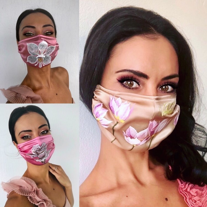 Silk is proven to be the most effective as a face covering!