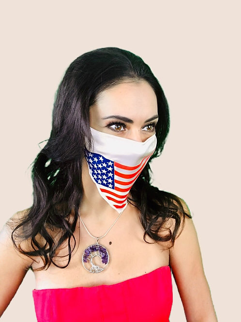 AMERICAN FLAG SIK MASK