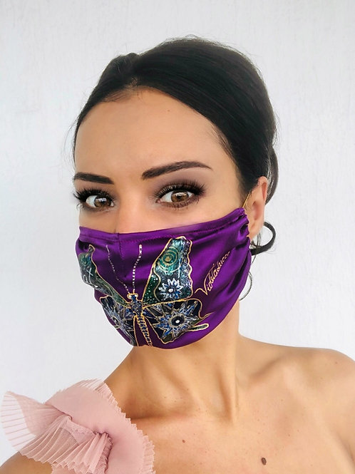 Crystal Butterfly with Swarovski Mask | Violetalucce