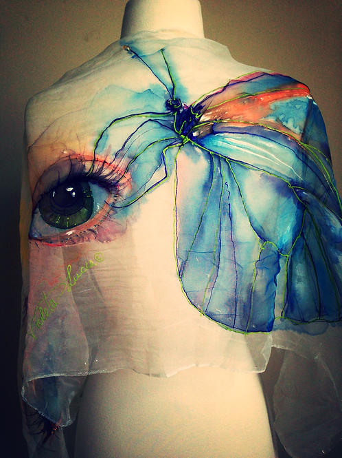 BUTTERFLY'S WING AND WOMAN'S EYE