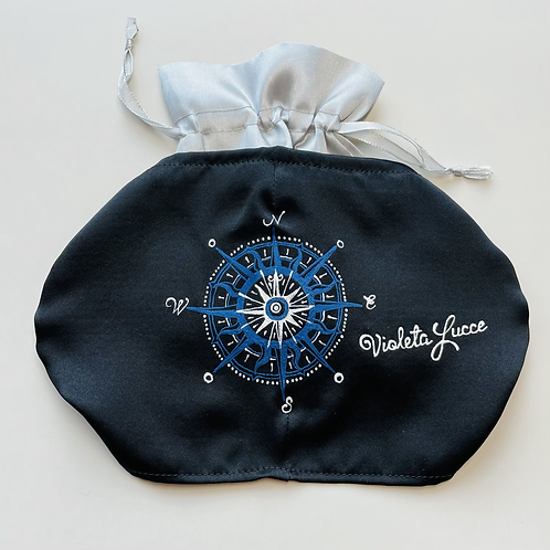 MEN'S MASK BLUE WINDROSE IN A GIFT BOX