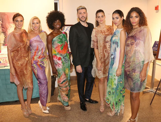 Exclusive Art and Fashion Evening