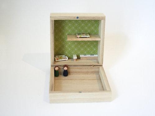 maison de poupée miniature