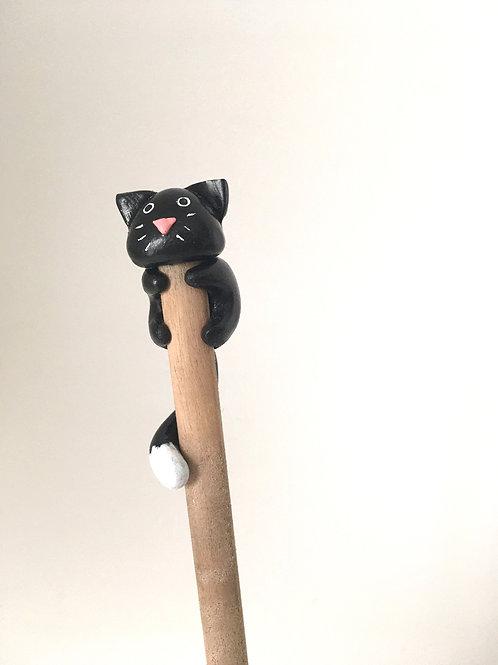 Crayon à papier Chat Noir