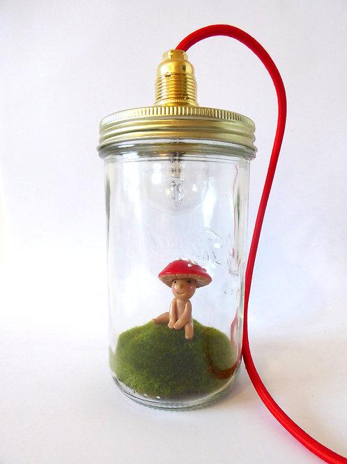 Lampe à poser Le bonhomme champignon