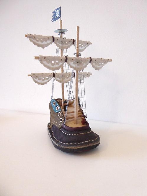 Petite Chaussure devenue Grand Voilier