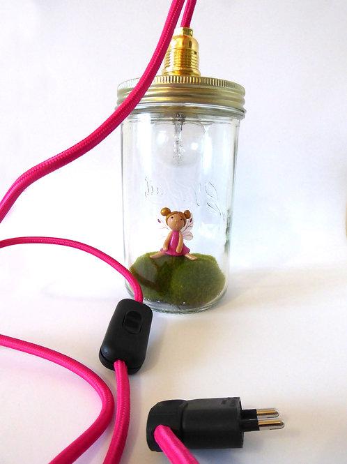 Lampe à poser La petite fée rose