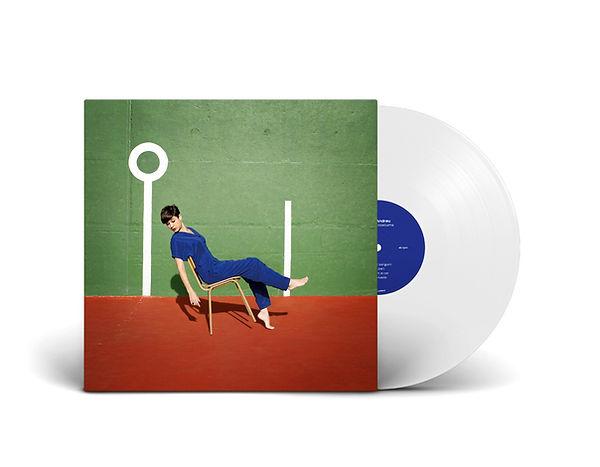 Vinil Els mals costums, primer treball discogràfic d'Anna Andreu, editat per Hidden Track Records