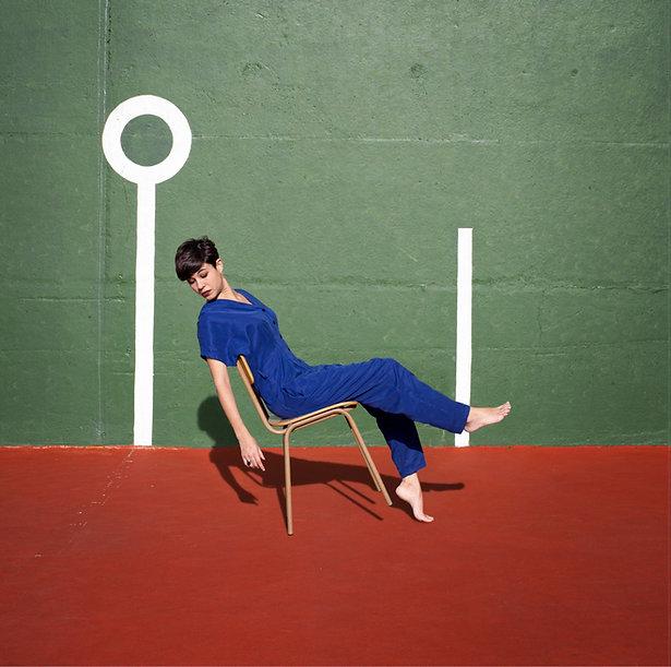 Portada del primer treball discogràfic d'Anna Andreu, Els mals costums, editat per Hidden Track Records.