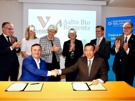 Aalto Bio Reagents Signs First Distribution Partner Agreement in Japan with Veritas Corporation