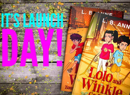 Middle Grade Series Launch Day