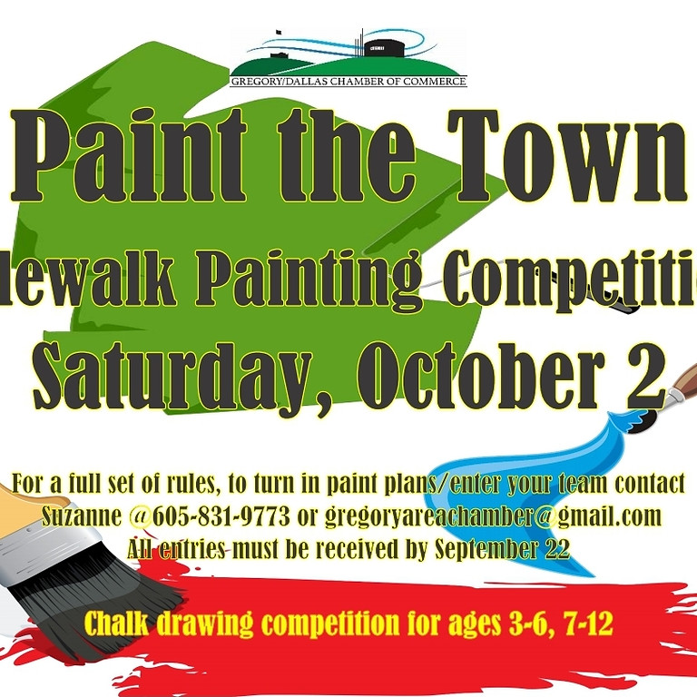 Paint the Town Sidewalk Painting Competition