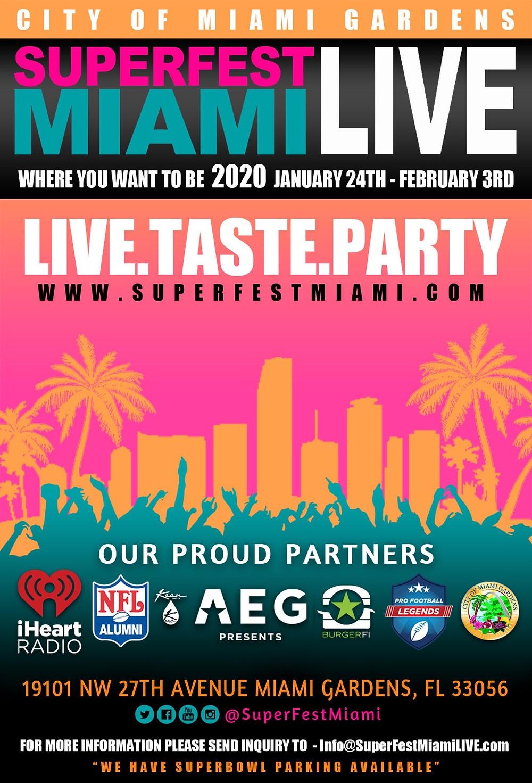 cardi b at superfest miami live, key2mia