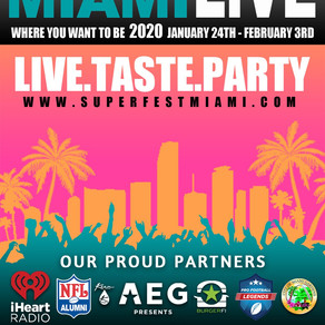 LIVE | TASTE | PARTY - SuperFest Miami LIVE