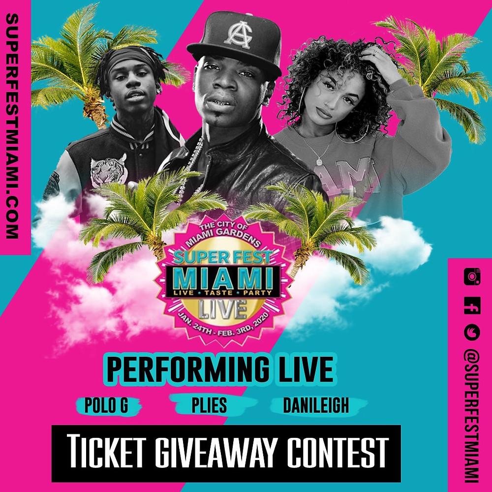 Superfest Live Miami, Super Bowl LIV, Key2MIA