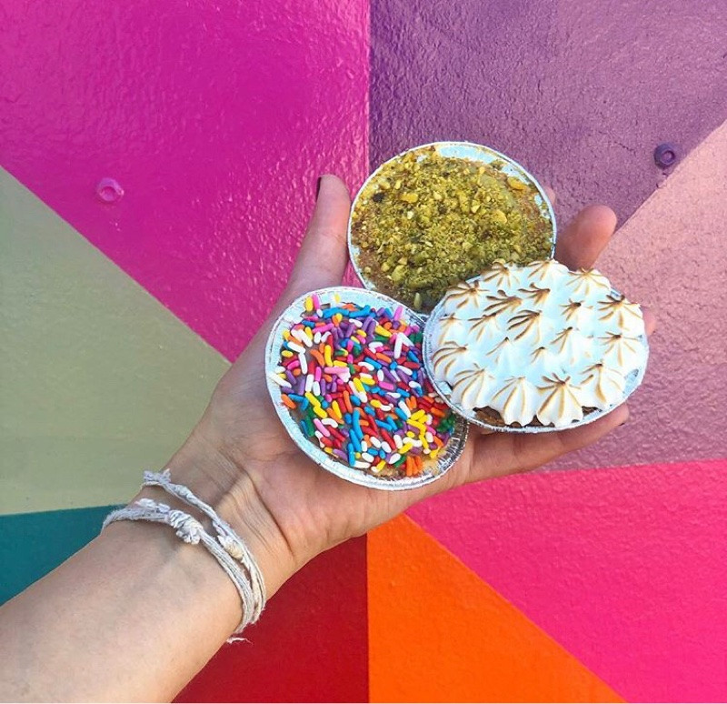 Wynwood Bakery, Pink Pie, Key2MIA